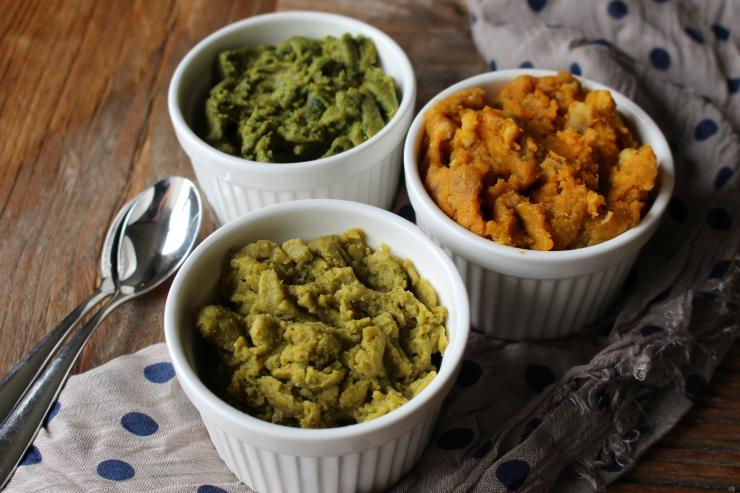 Puree'd vegetable combinations